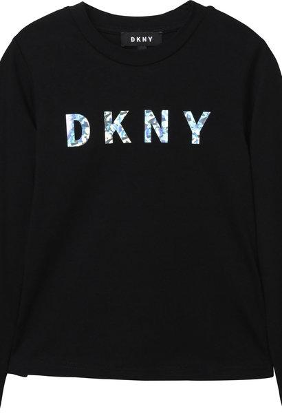 DKNY t-shirt en jersey de coton