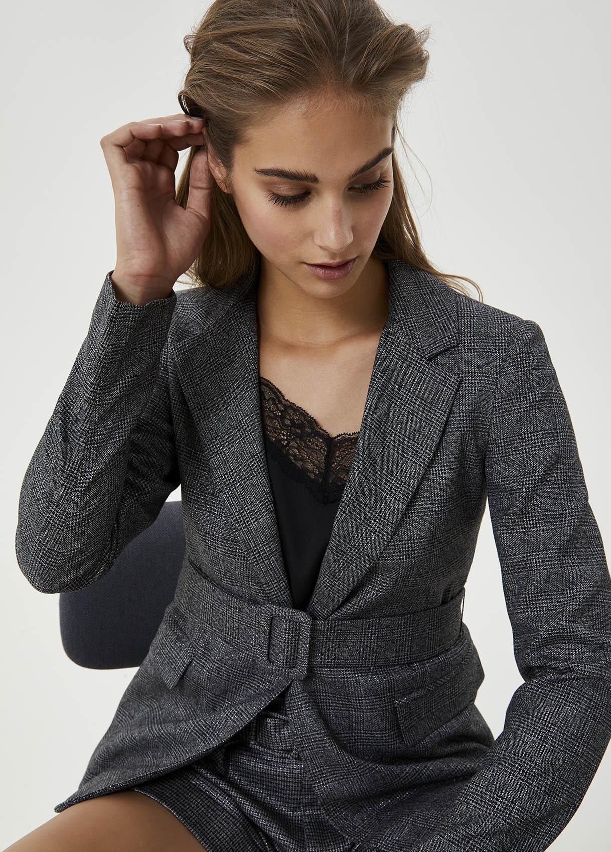 LIU JO blazer jacquard-3