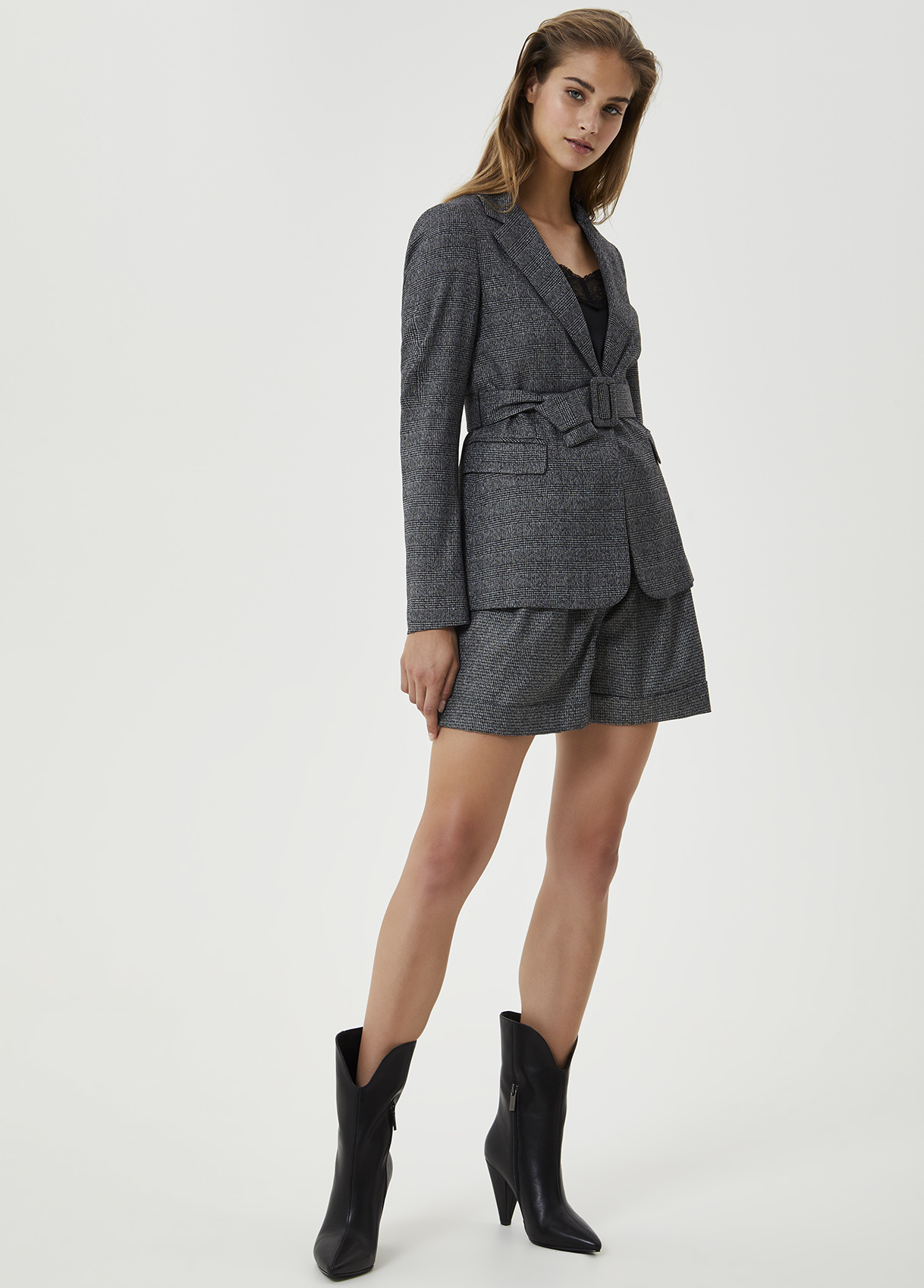 LIU JO blazer jacquard-4