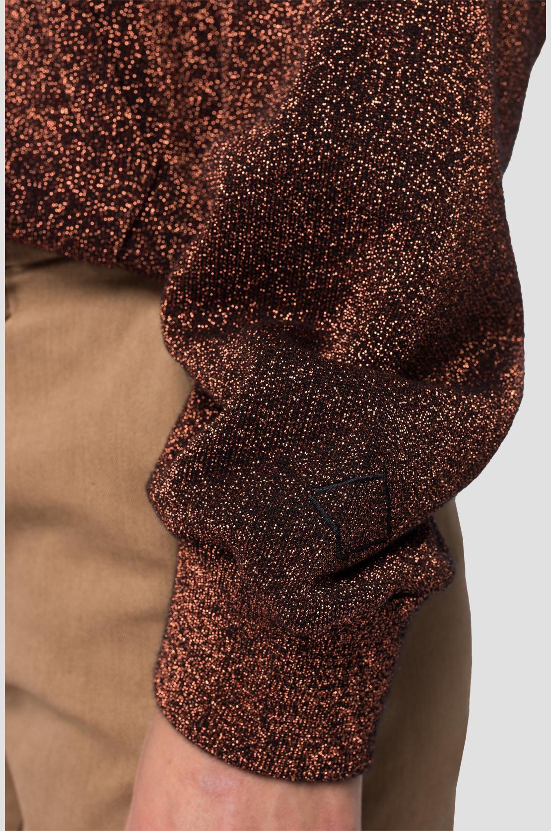 REPLAY sweat à capuche lurex-5