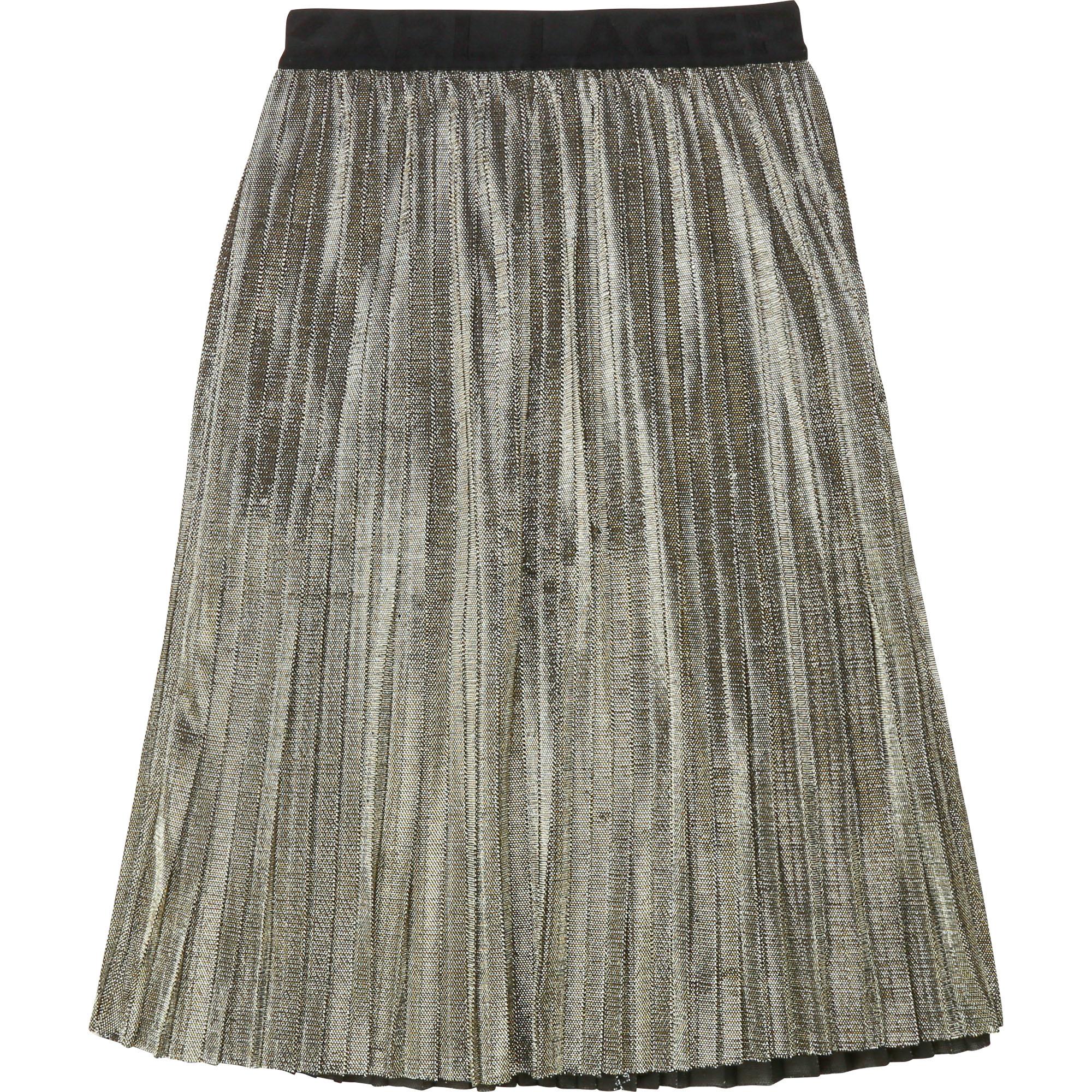 KARL LAGERFELD jupe plissée-1