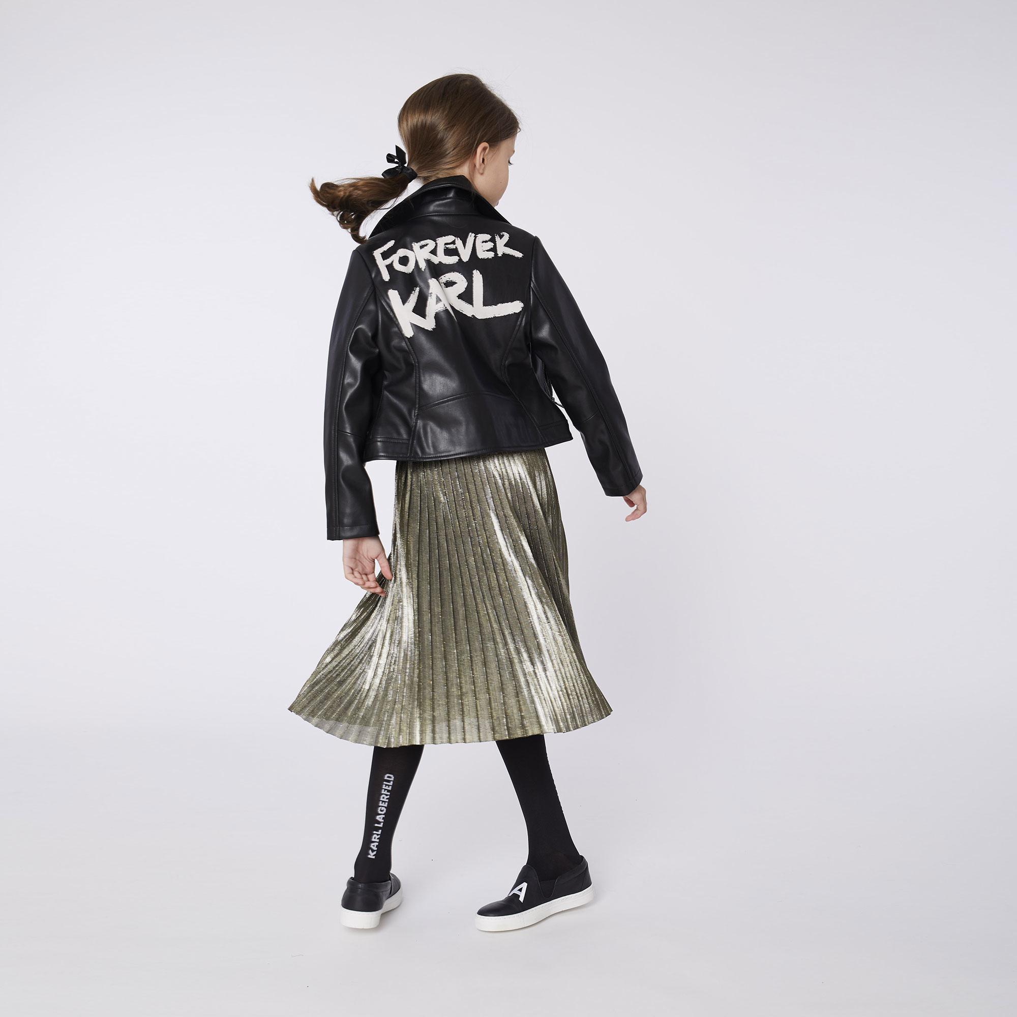 KARL LAGERFELD jupe plissée-3