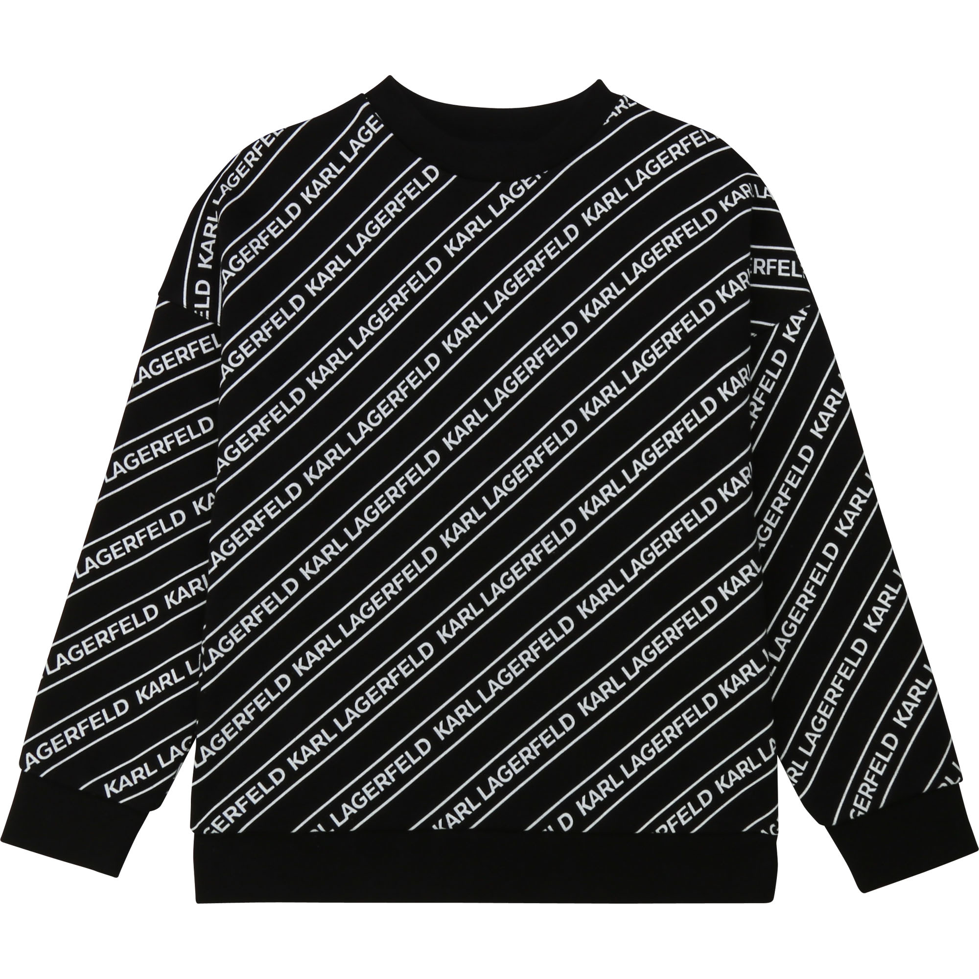 KARL LAGERFELD sweat imprimé all-over-1