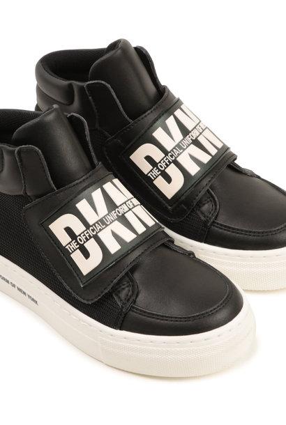 DKNY baskets montantes bimatières
