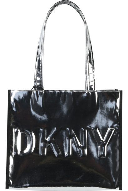 DKNY sac cabas effet miroir