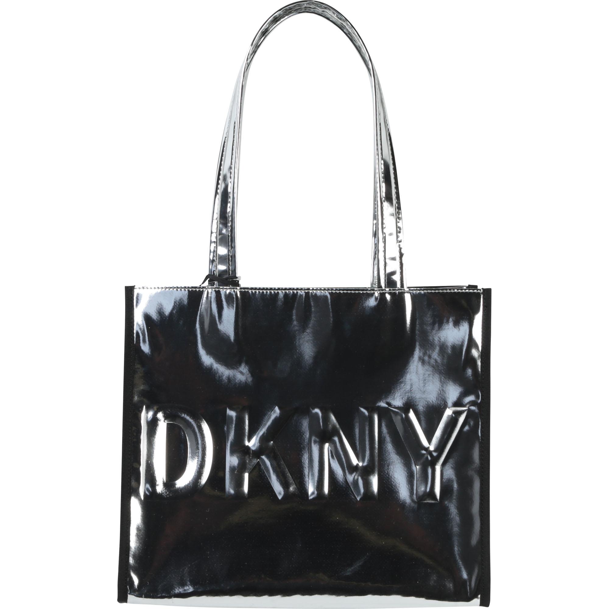 DKNY sac cabas effet miroir-1