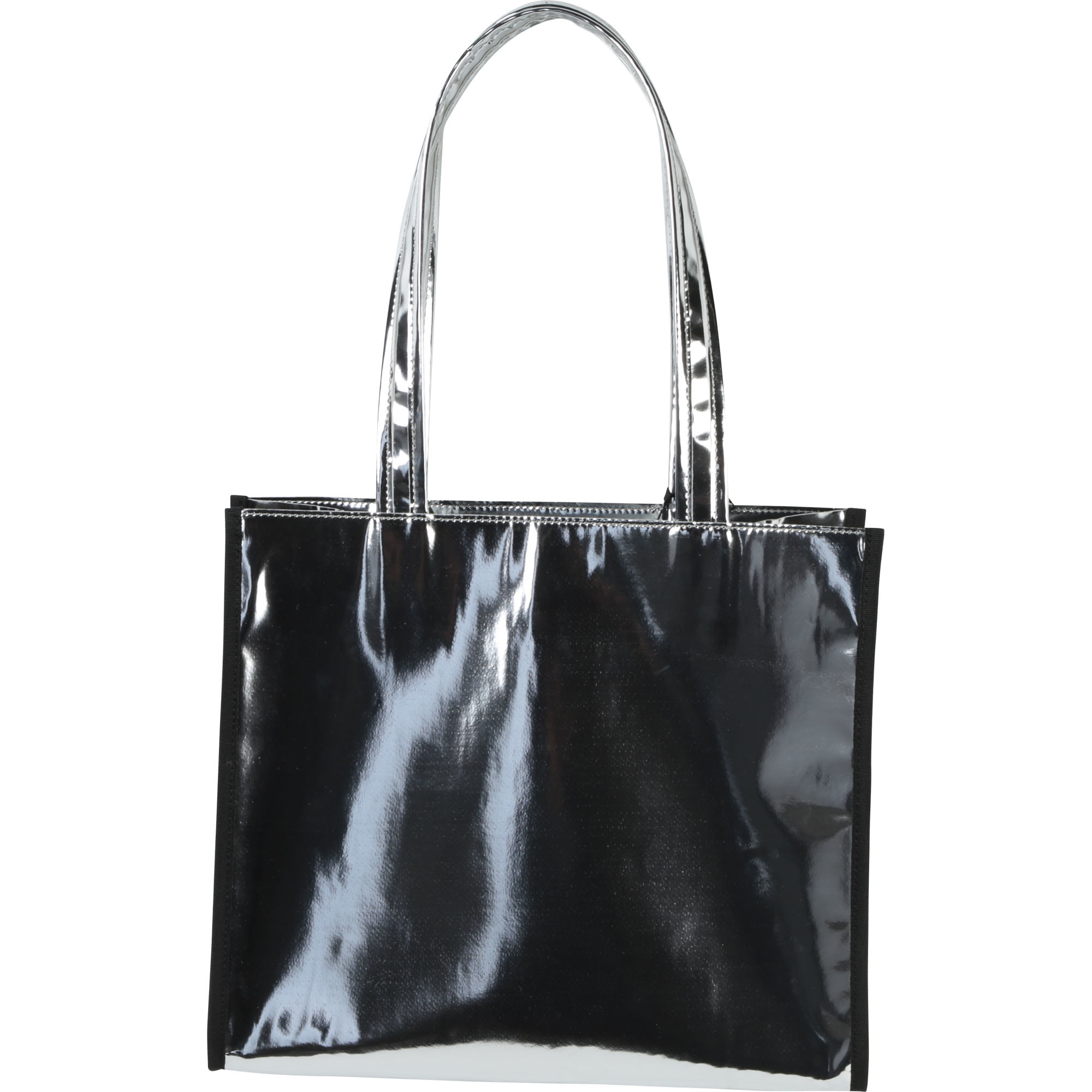 DKNY sac cabas effet miroir-2