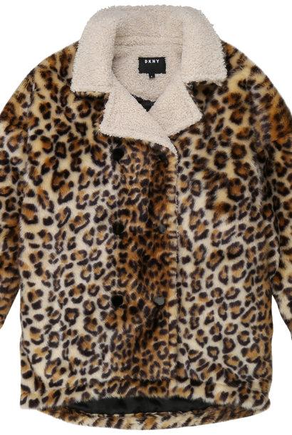 DKNY manteaux au fausse fourrure