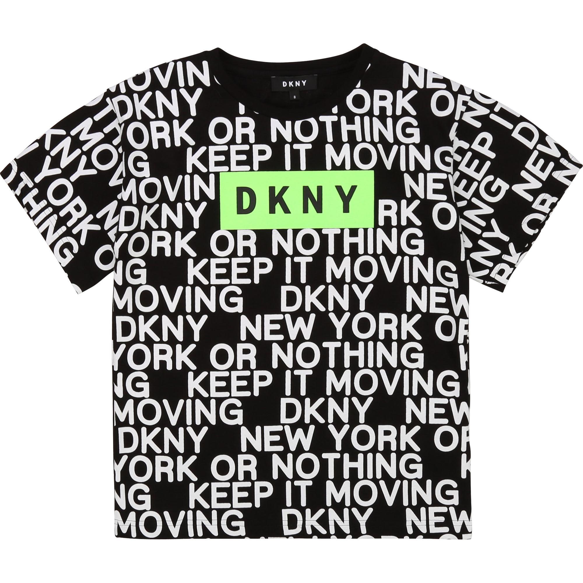 DKNY t-shirt en jersey de coton-1