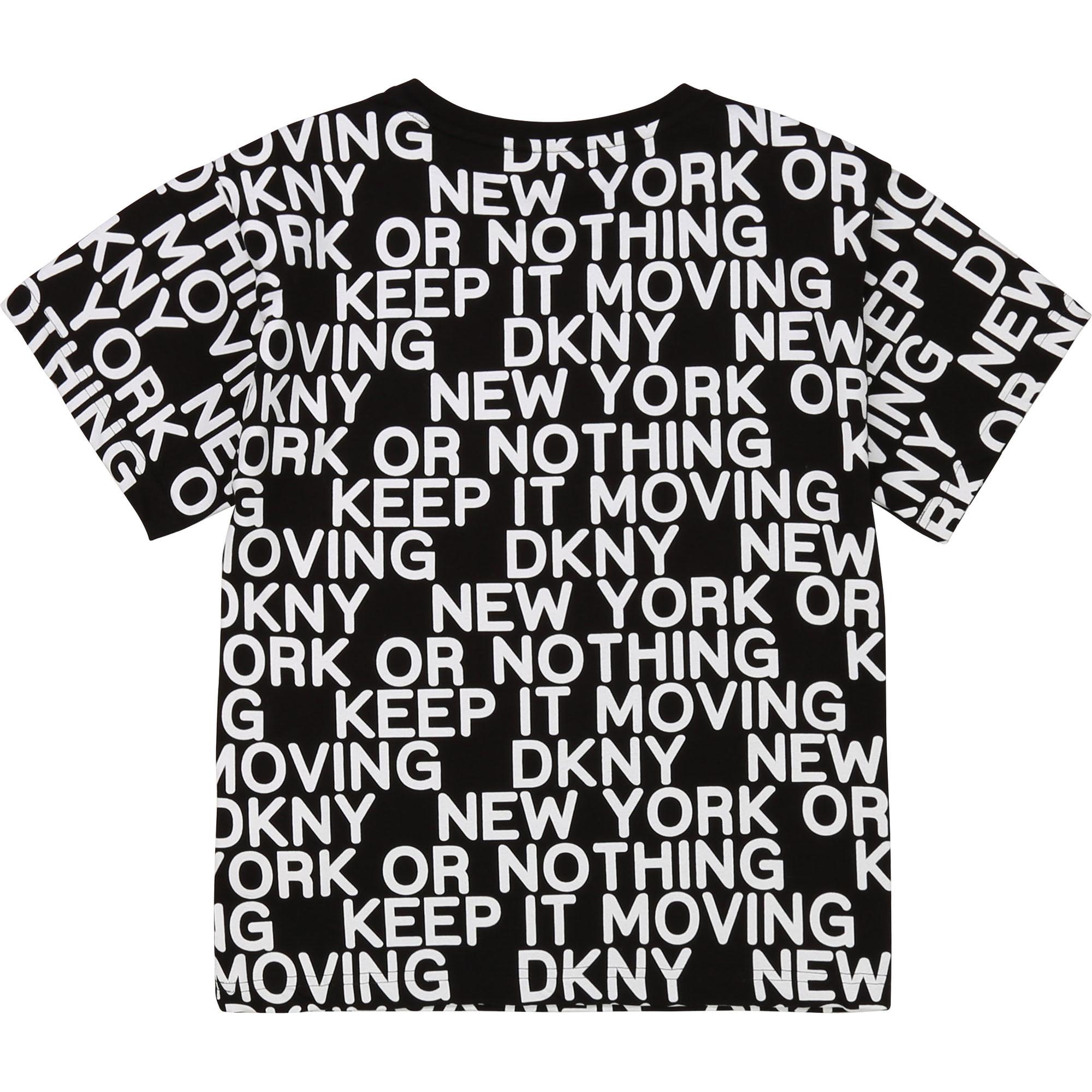 DKNY t-shirt en jersey de coton-2