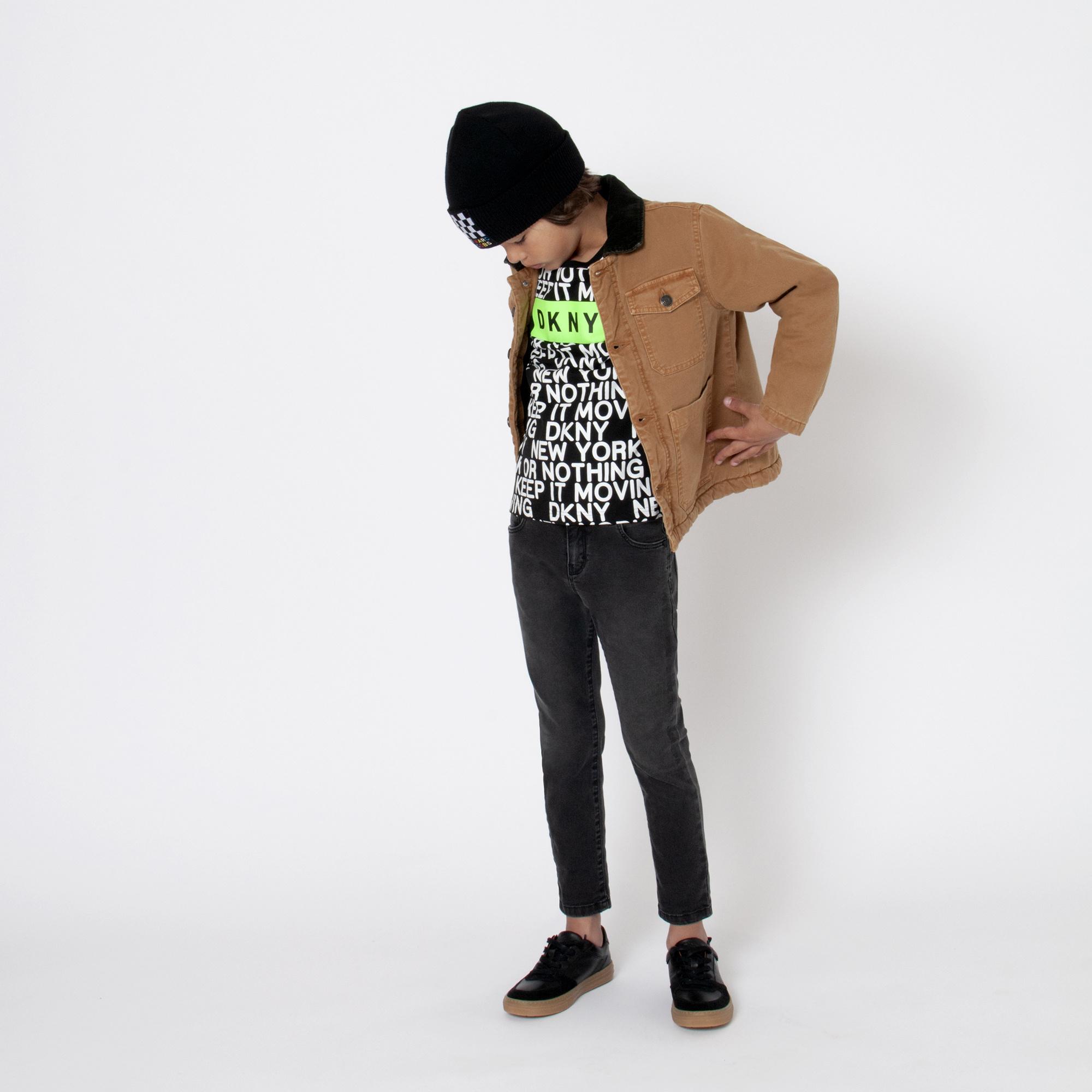 DKNY t-shirt en jersey de coton-4