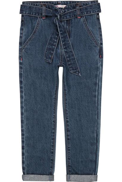 BILLIEBLUSH jeans ceinturé à poches