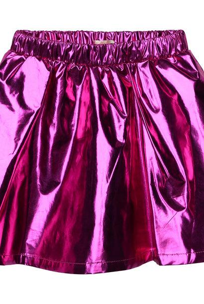 BILLIEBLUSH jupe courte métallisée