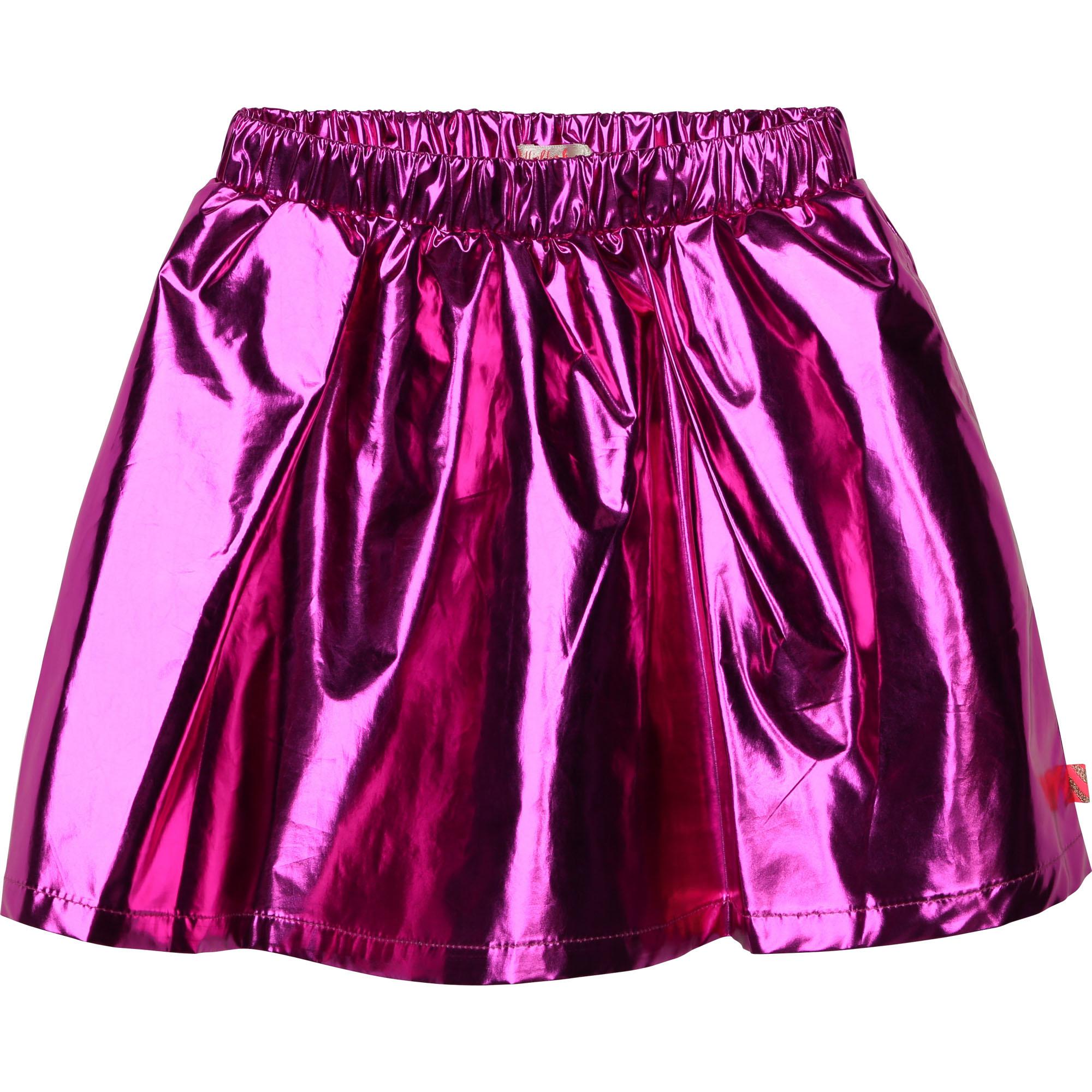 BILLIEBLUSH jupe courte métallisée-1