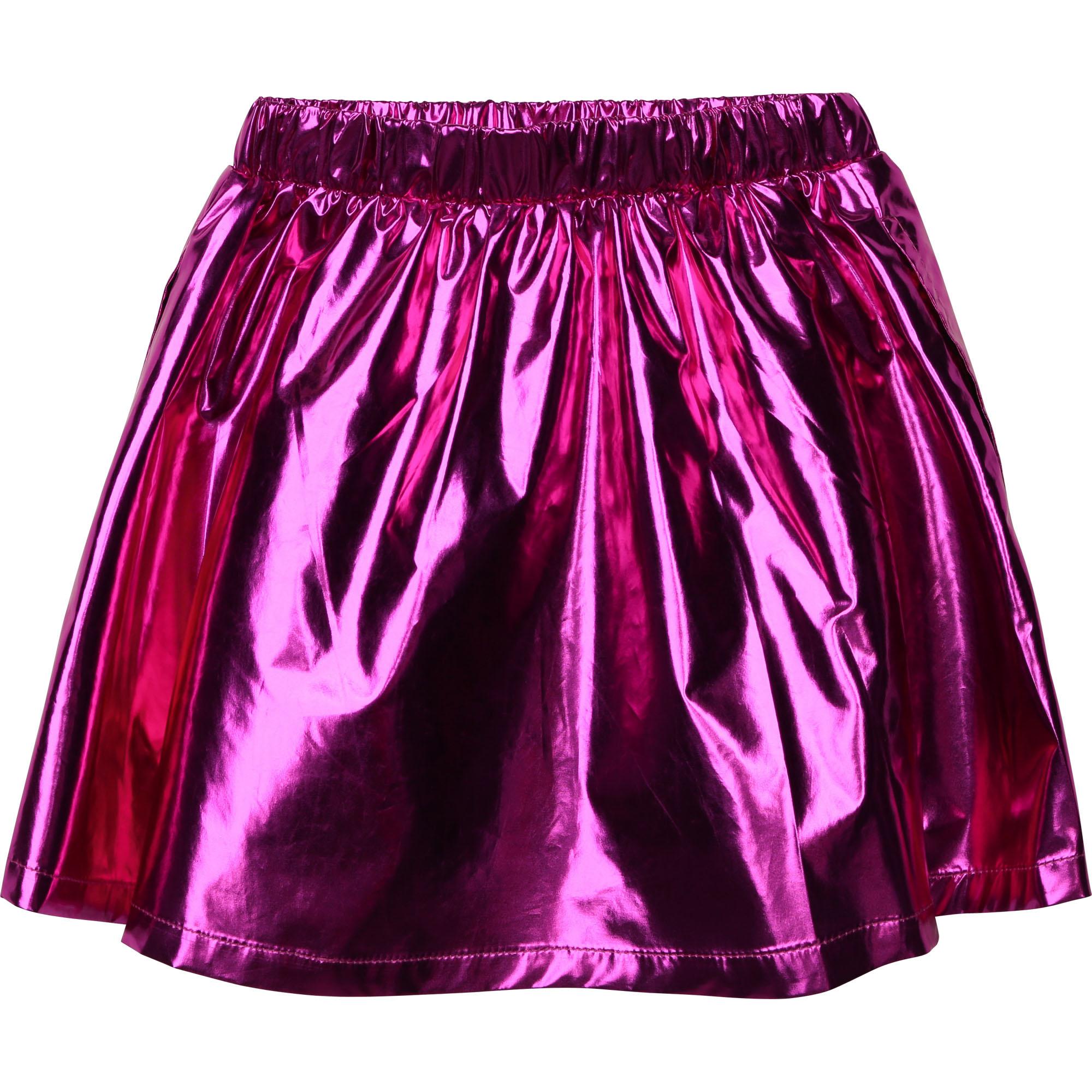BILLIEBLUSH jupe courte métallisée-2