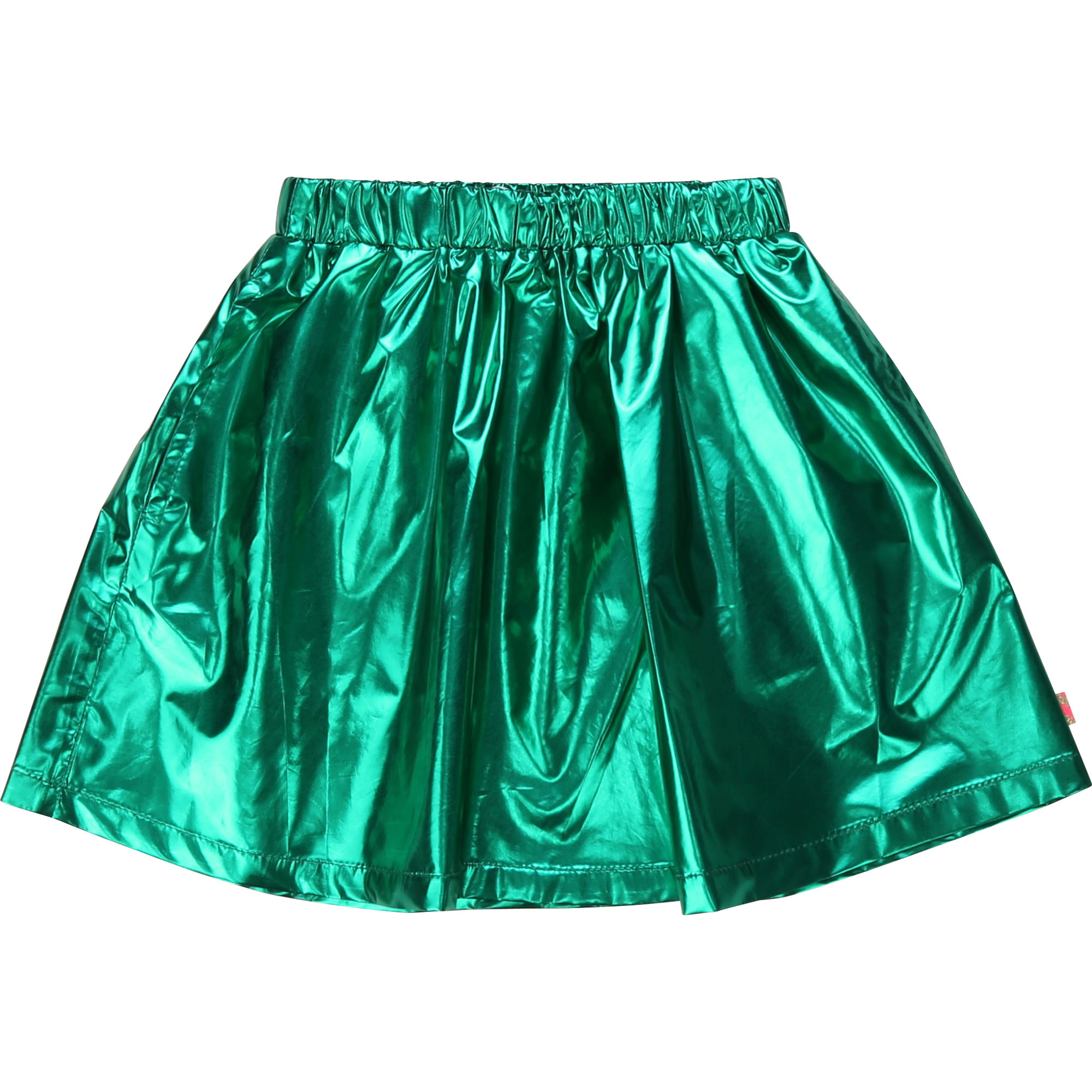 BILLIEBLUSH jupe courte métallisée-4