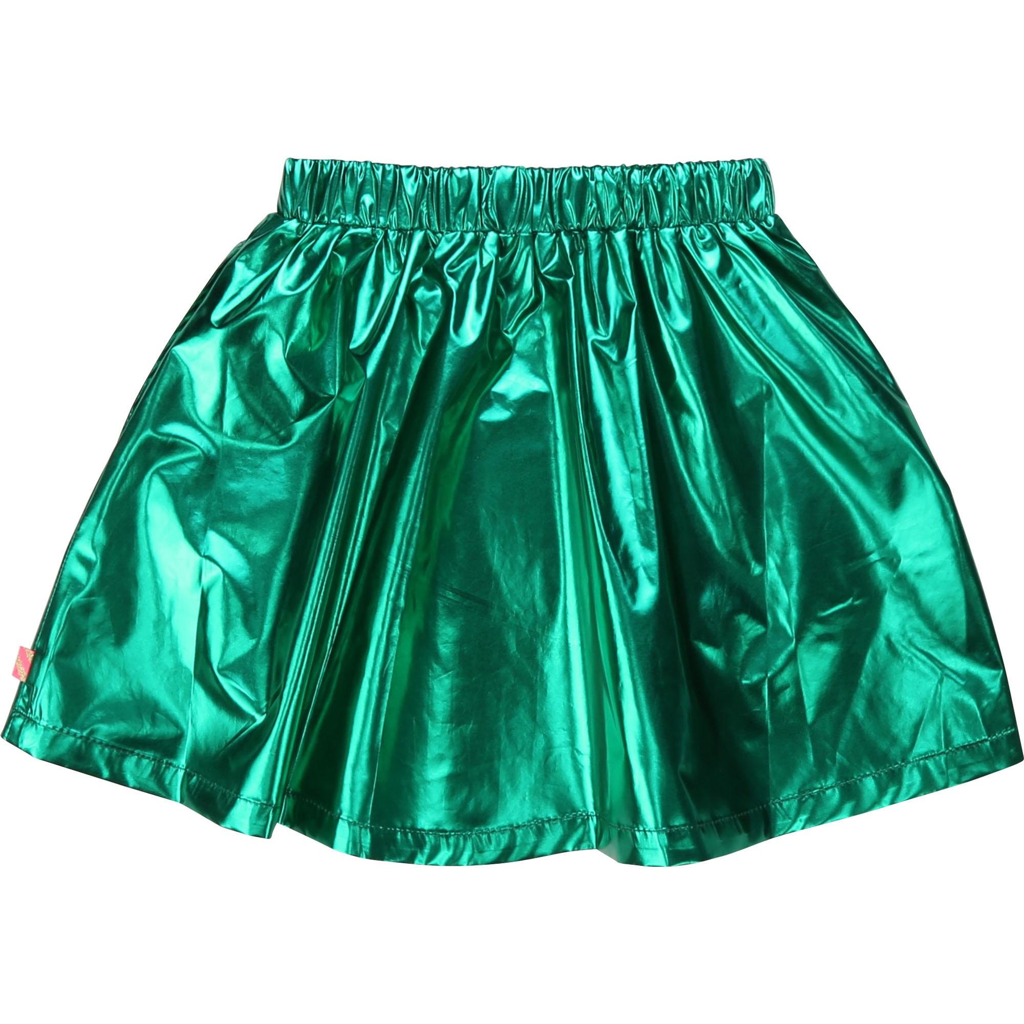 BILLIEBLUSH jupe courte métallisée-5