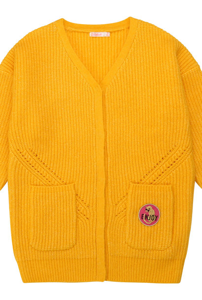 BILLIEBLUSH gilet en tricot oversize