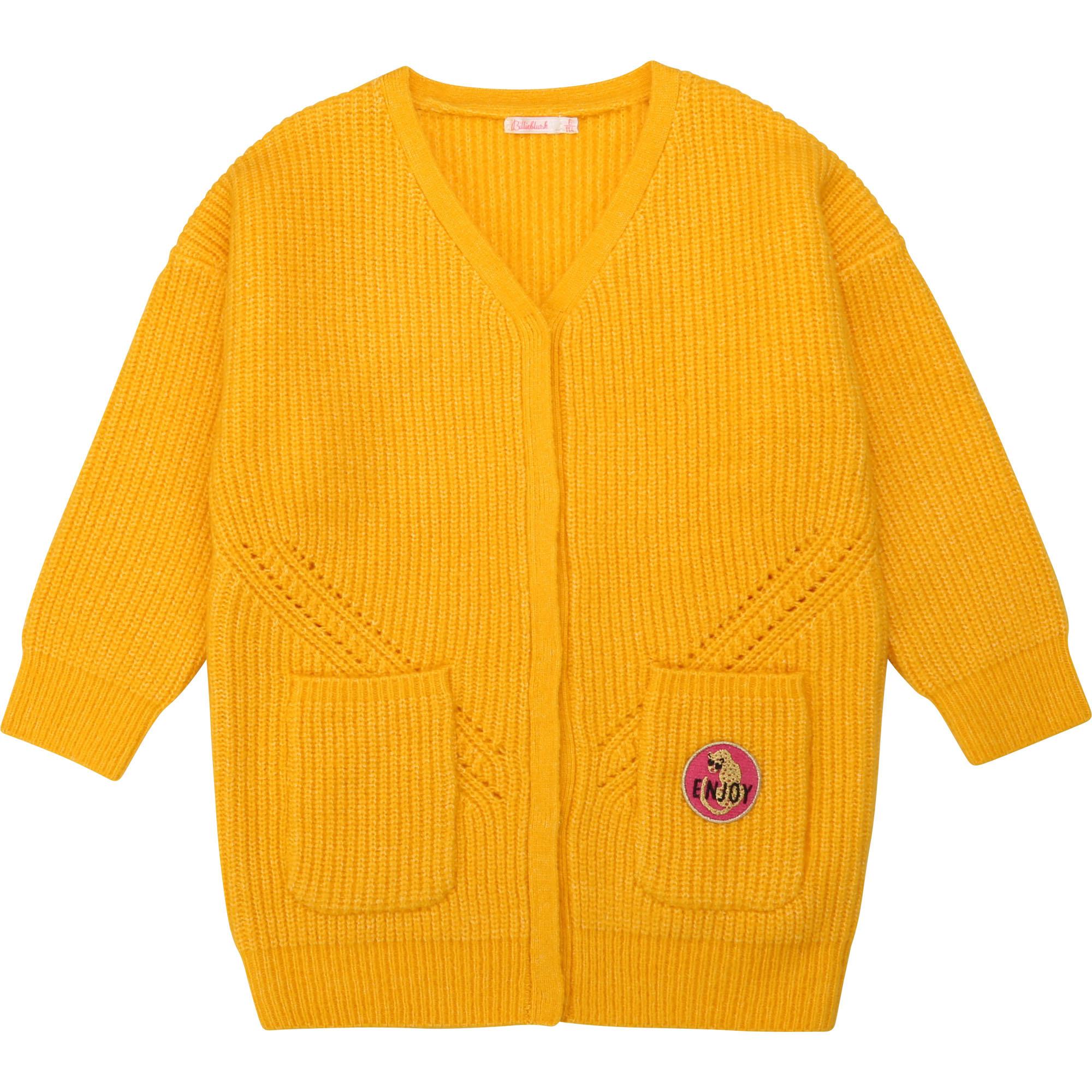 BILLIEBLUSH gilet en tricot oversize-1
