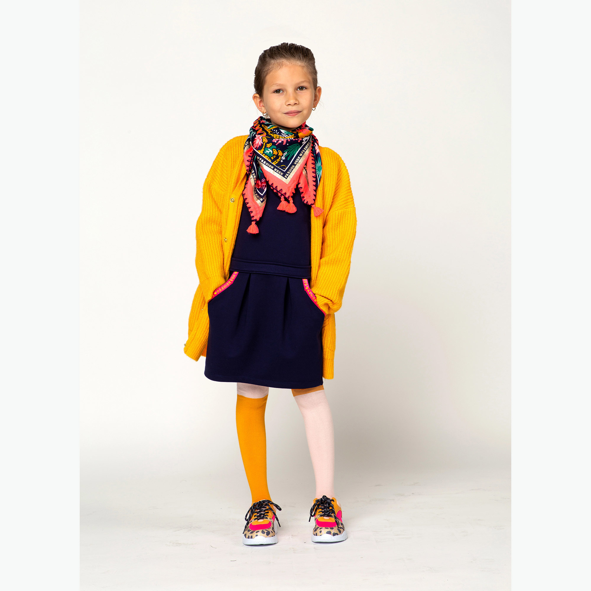 BILLIEBLUSH gilet en tricot oversize-3