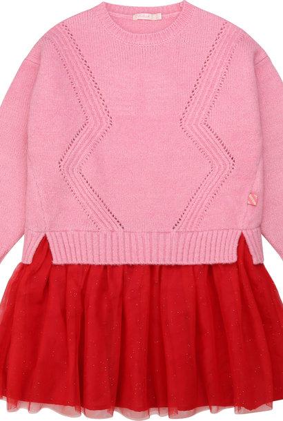 BILLIEBLUSH robe en tulle et tricot