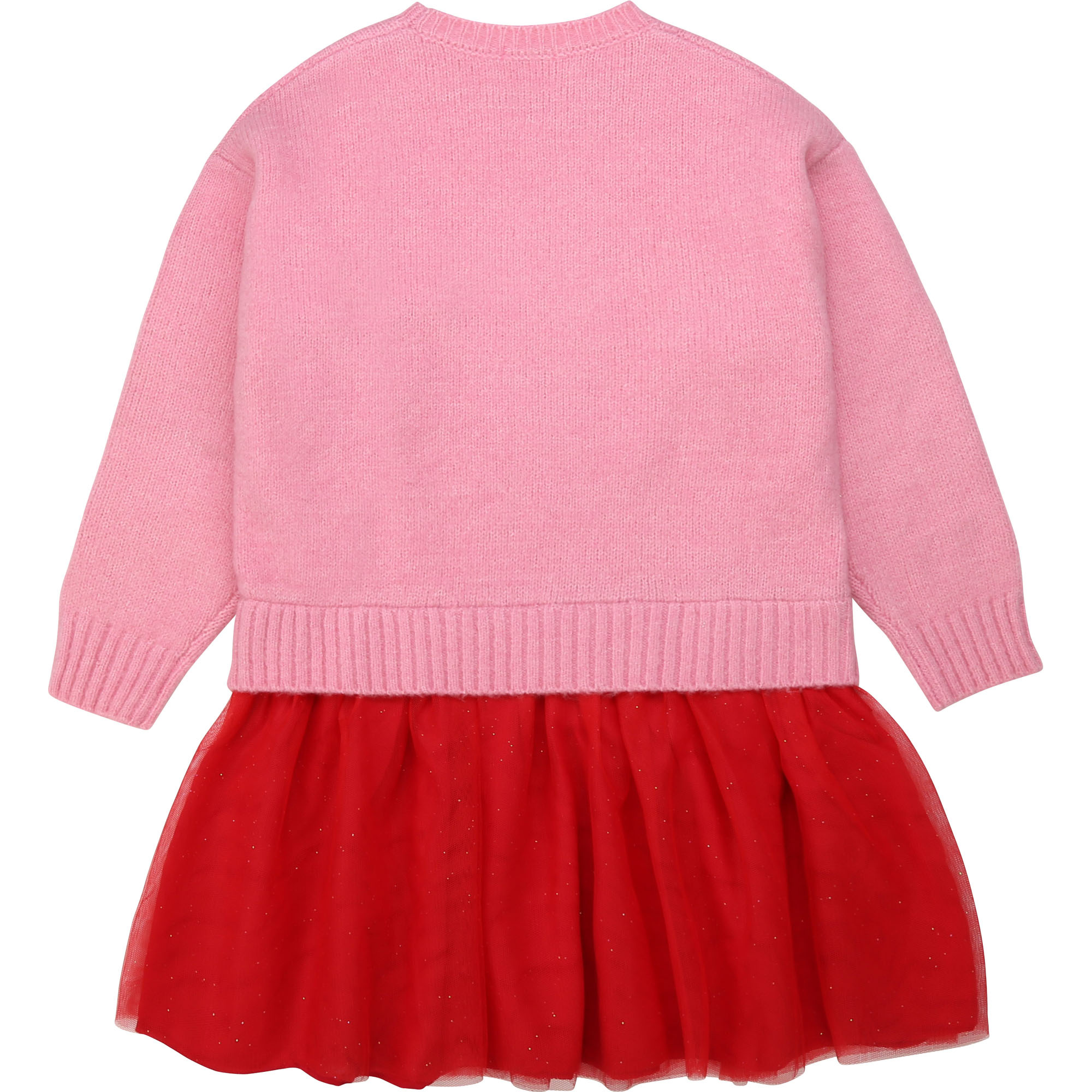 BILLIEBLUSH robe en tulle et tricot-2
