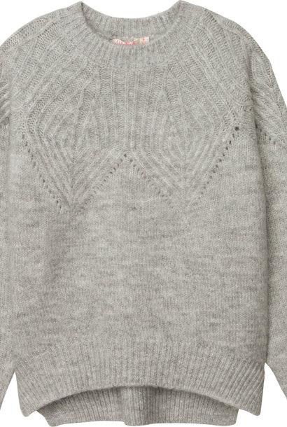 BILLIEBLUSH pull en tricot point fantaisie