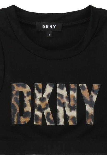 DKNY brassière en jersey avec logo