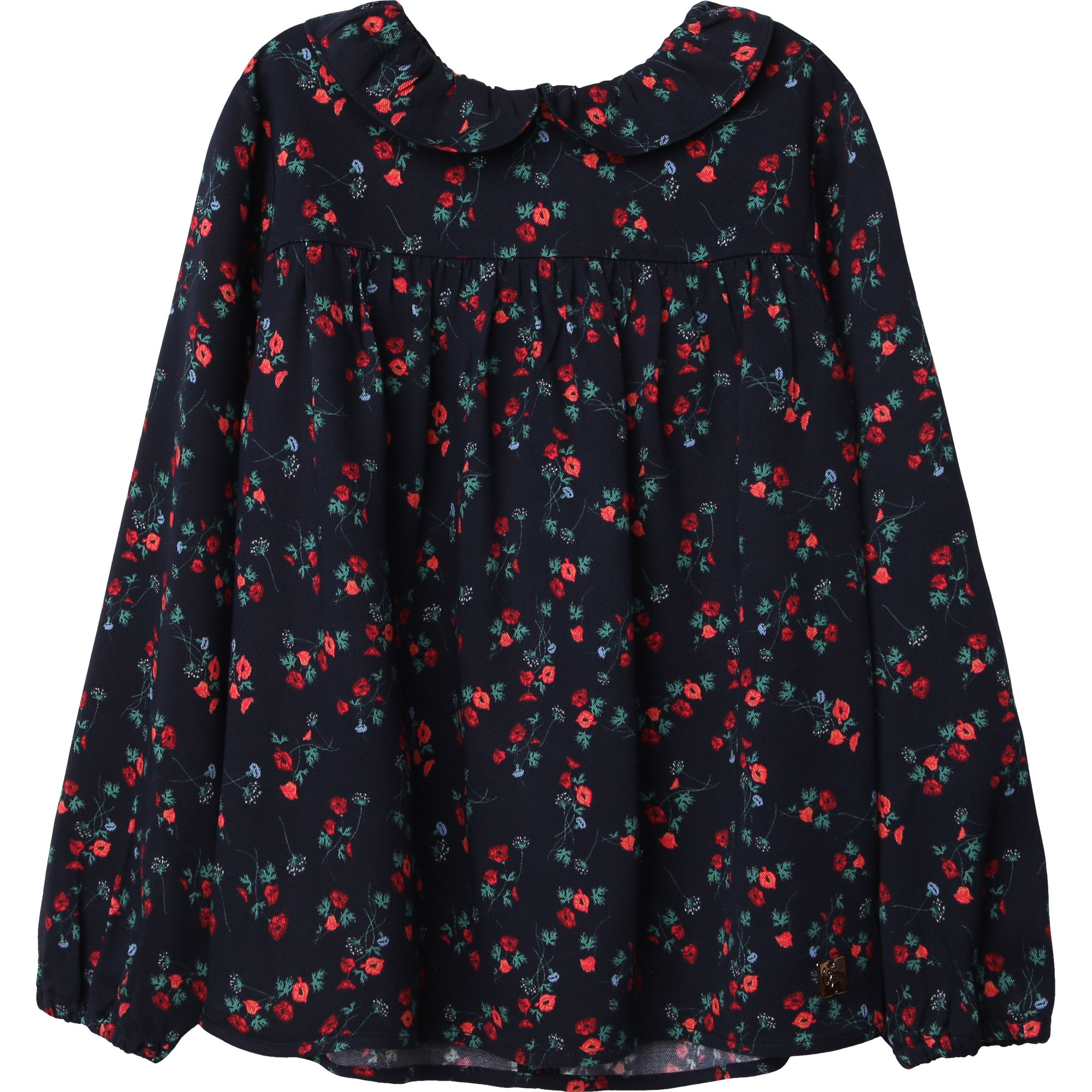 CARREMENT BEAU blouse en twill de viscose-1