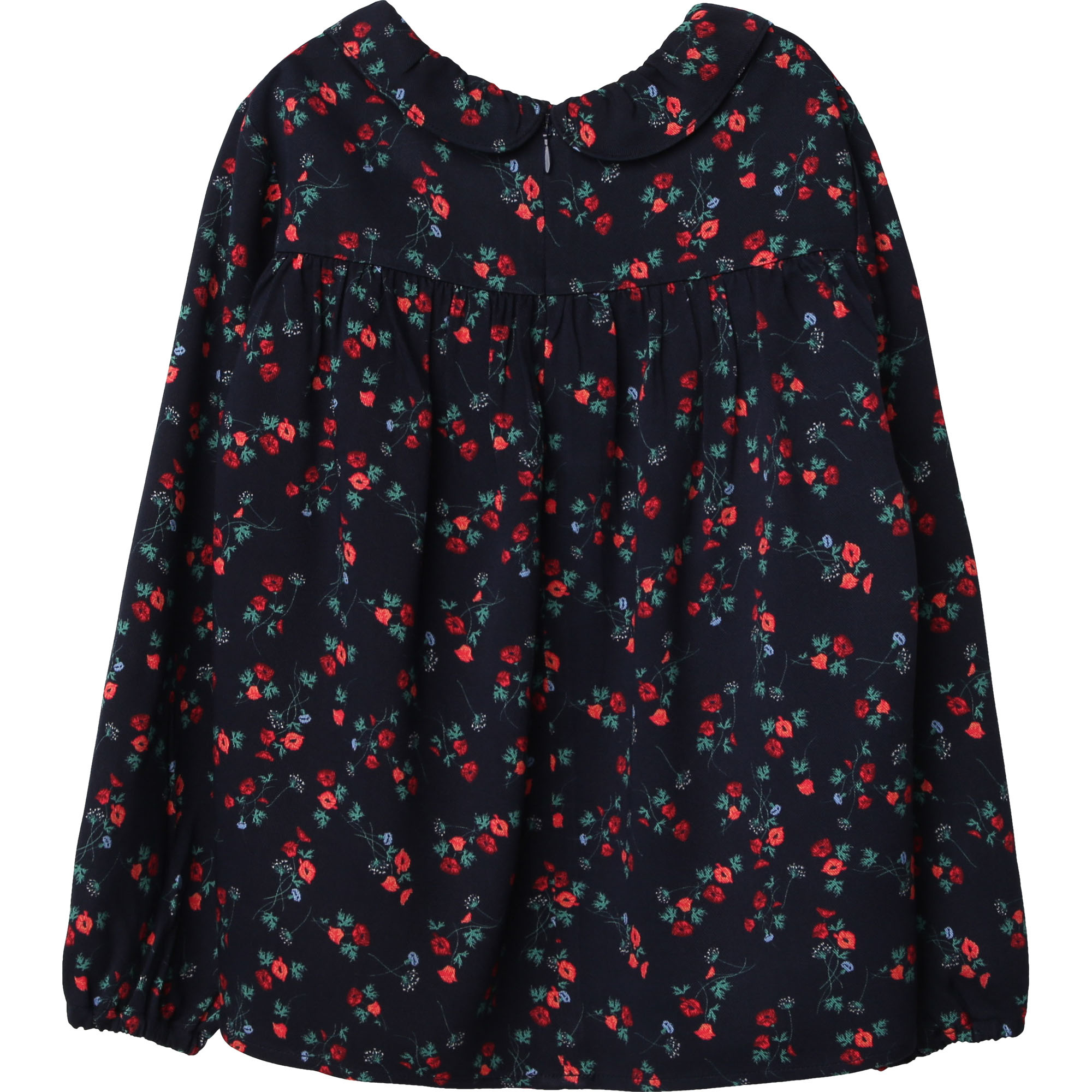 CARREMENT BEAU blouse en twill de viscose-2