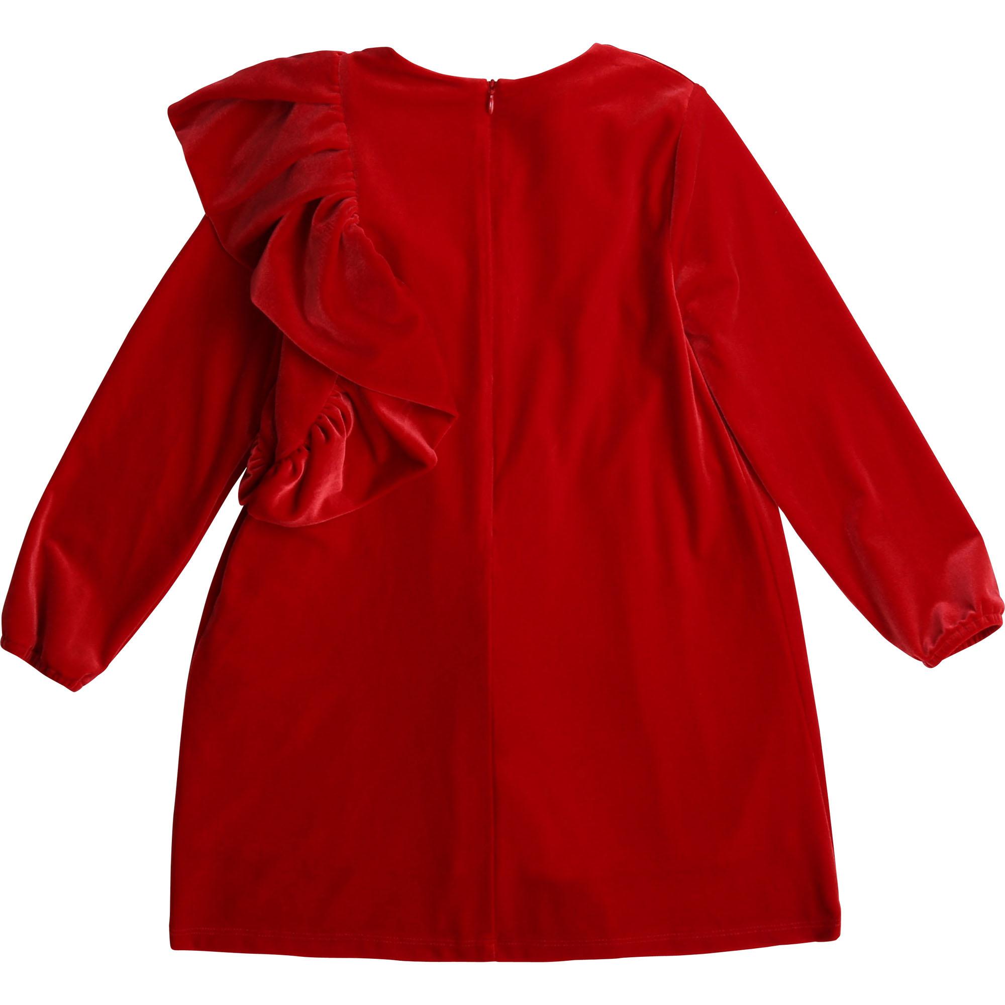 CARREMENT BEAU robe de cérémonie en velours-2
