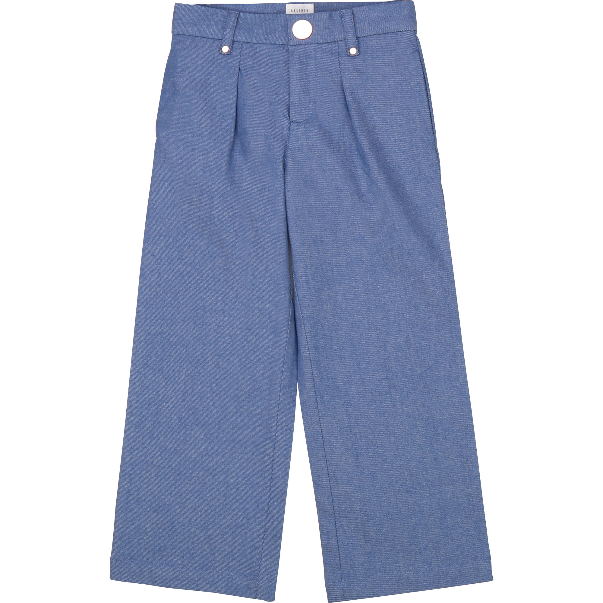 CARREMENT BEAU pantalon en denim flare-1