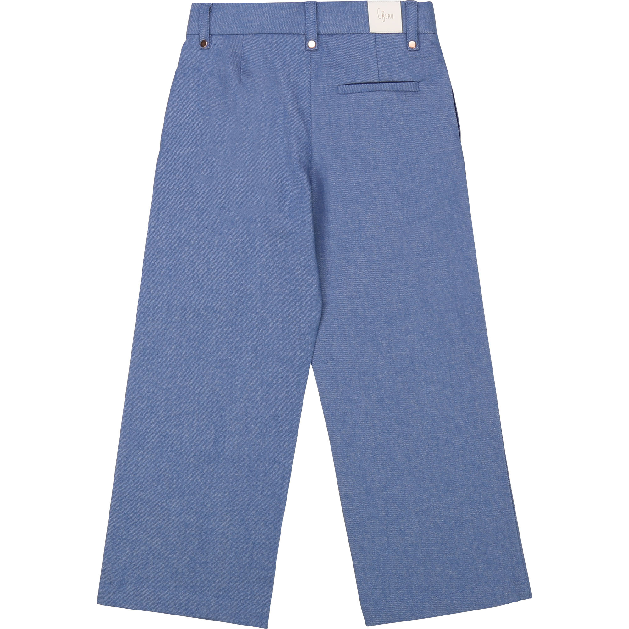 CARREMENT BEAU pantalon en denim flare-2