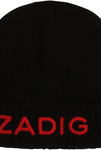 ZADIG & VOLTAIRE bonnet en laine et cachemire