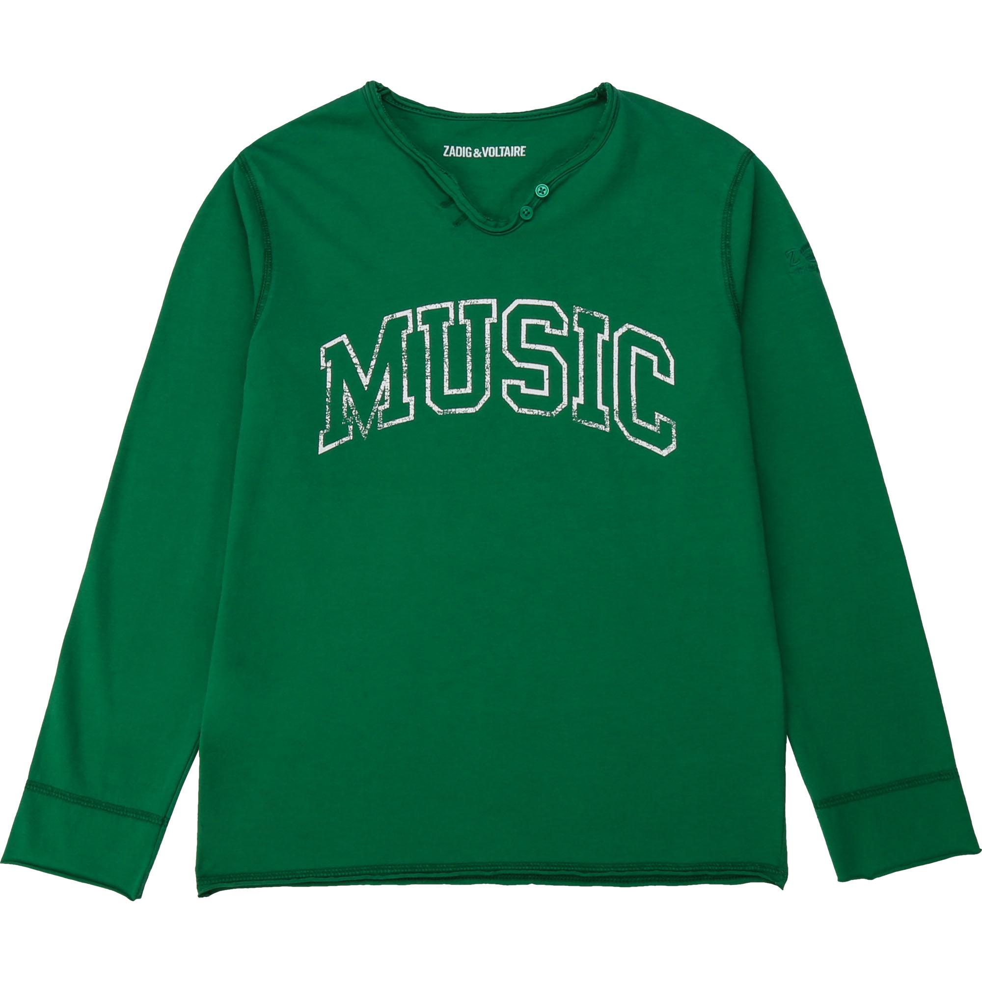 ZADIG & VOLTAIRE t-shirt en jersey de coton-1