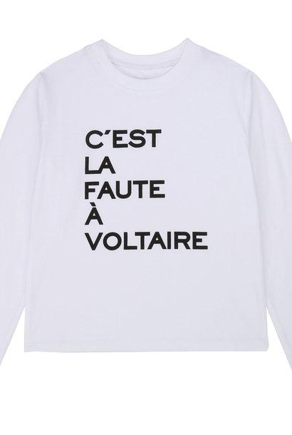 ZADIG & VOLTAIRE t-shirt imprimé en coton