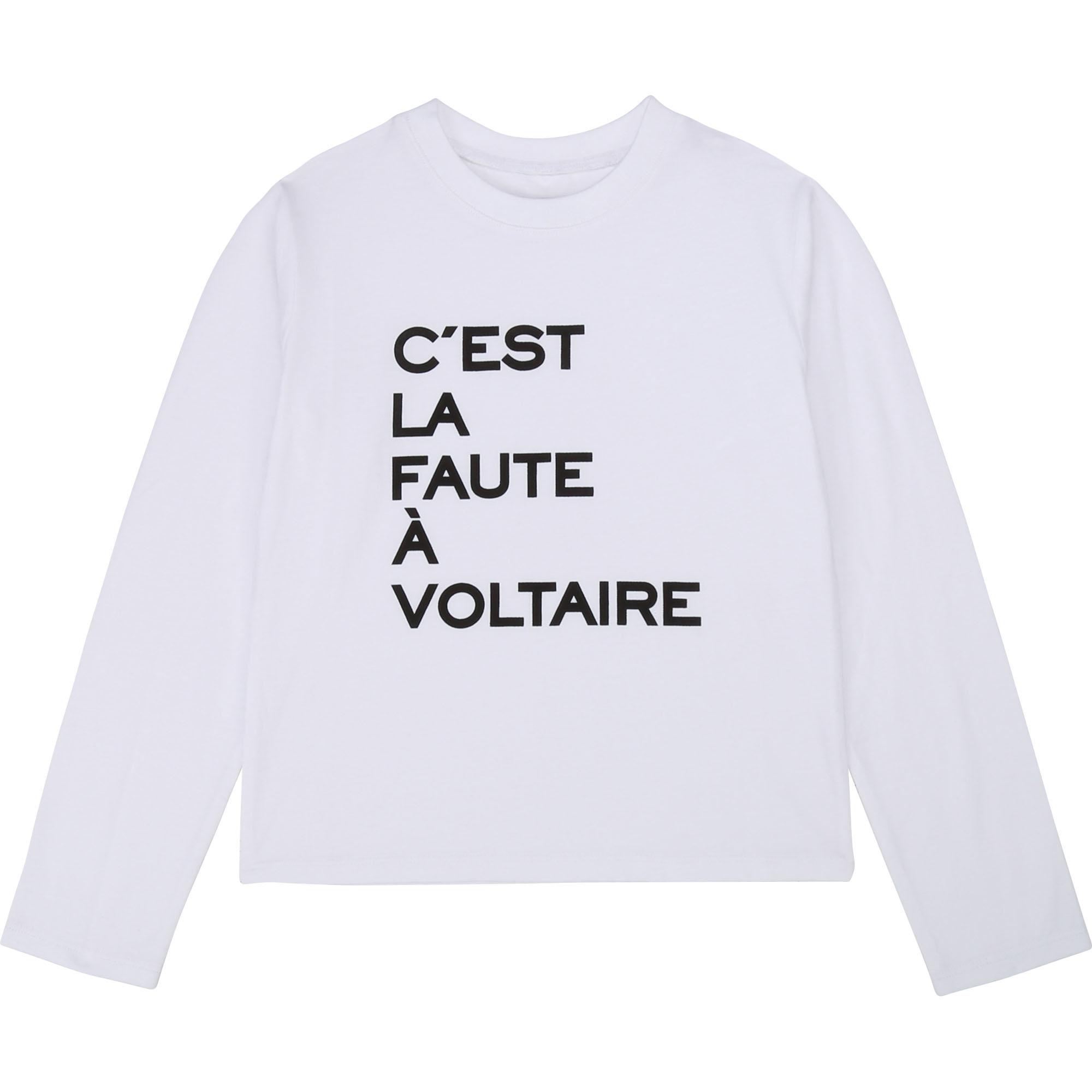 ZADIG & VOLTAIRE t-shirt imprimé en coton-1