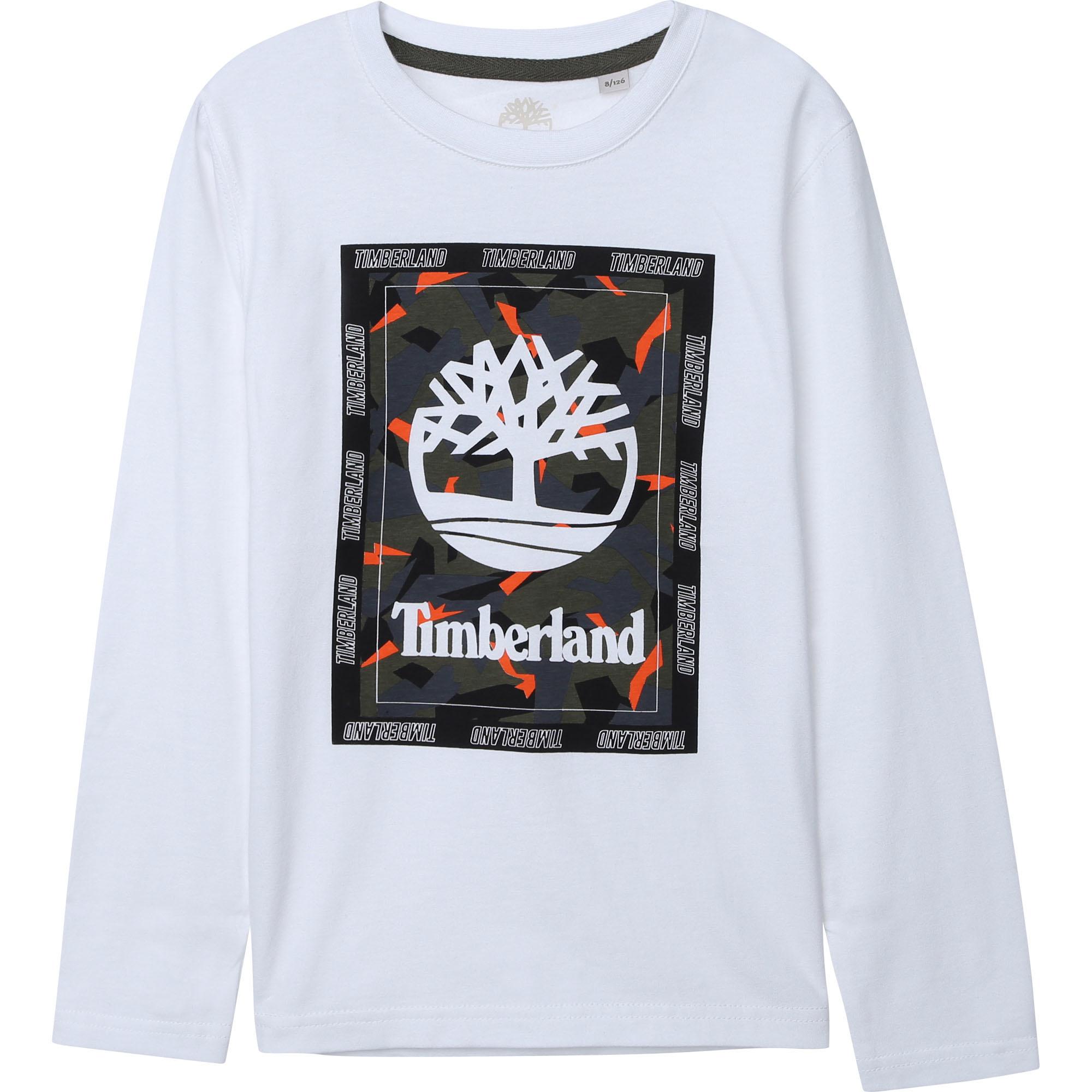 TIMBERLAND t-shirt en coton biologique-1