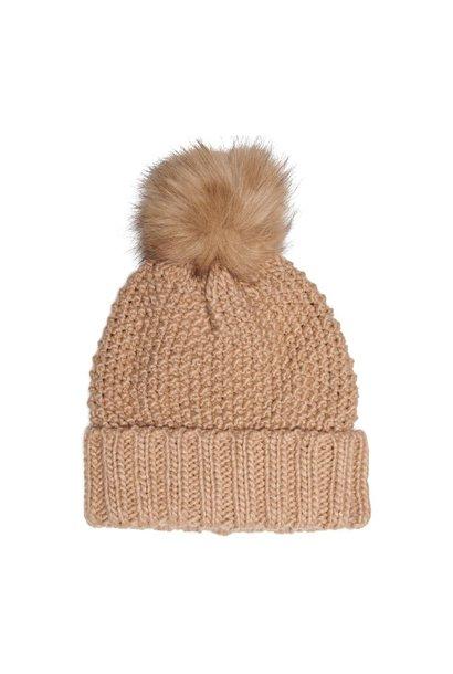 ONLY bonnet pompon