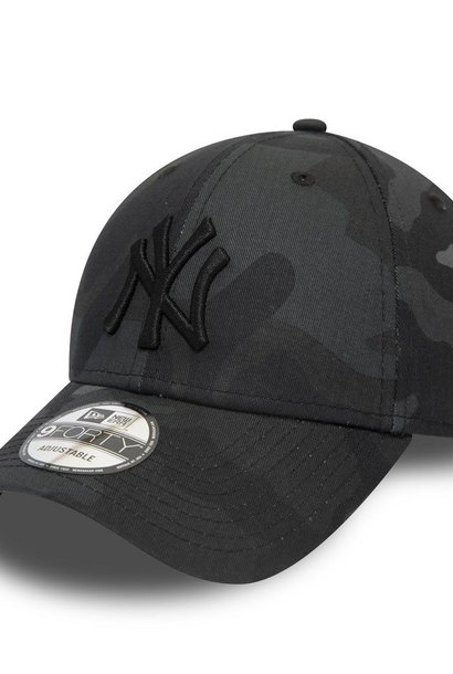 NEW ERA 9forty yankees camouflage noir
