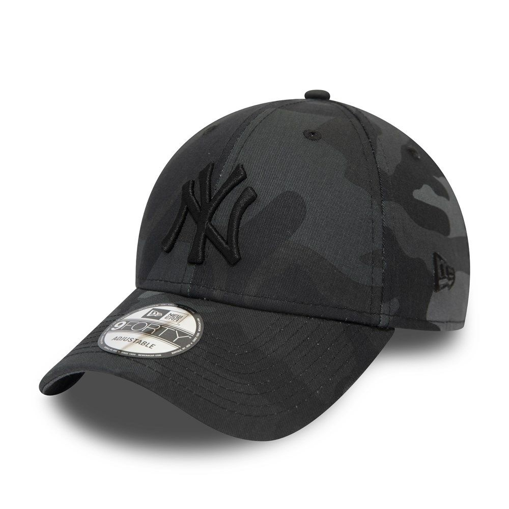 NEW ERA 9forty yankees camouflage noir-1