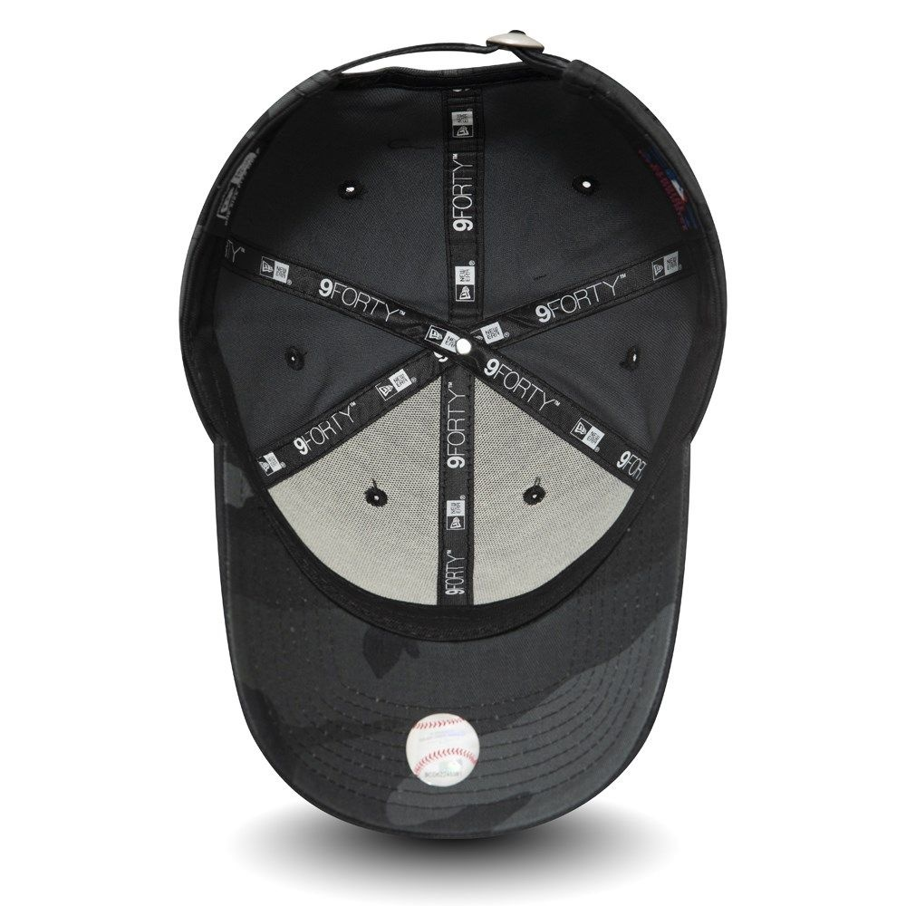 NEW ERA 9forty yankees camouflage noir-2