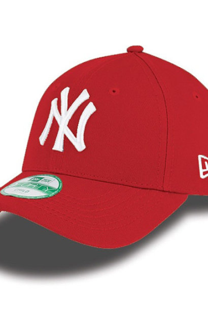 NEW ERA 9forty yankees rouge