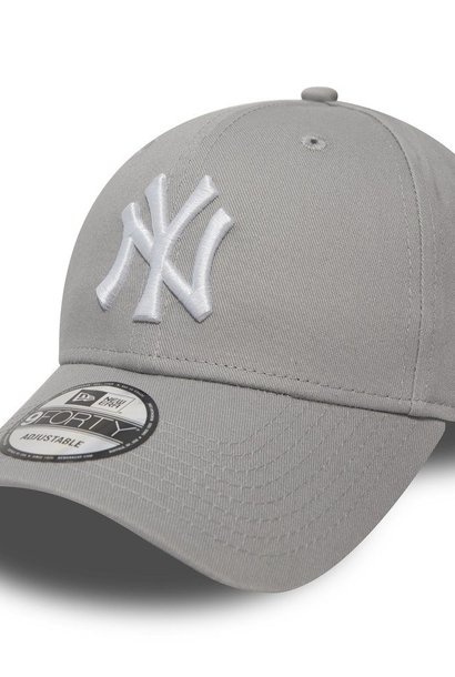 NEW ERA 9forty yankees gris