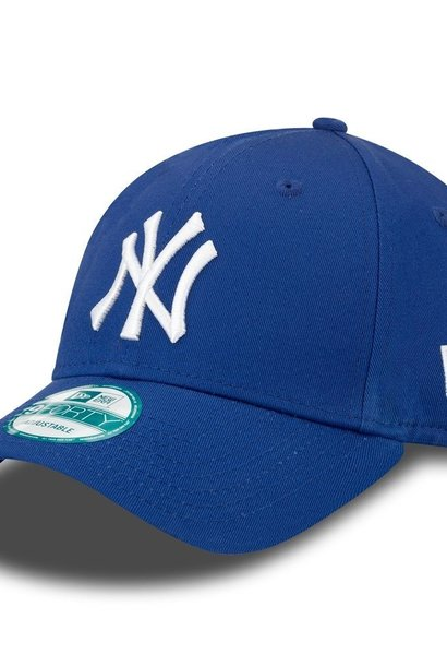 NEW ERA 9forty yankees bleu