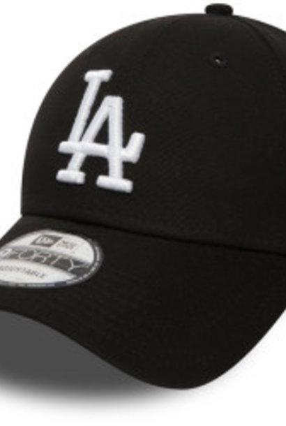 NEW ERA 9forty dodgers noir et blanc