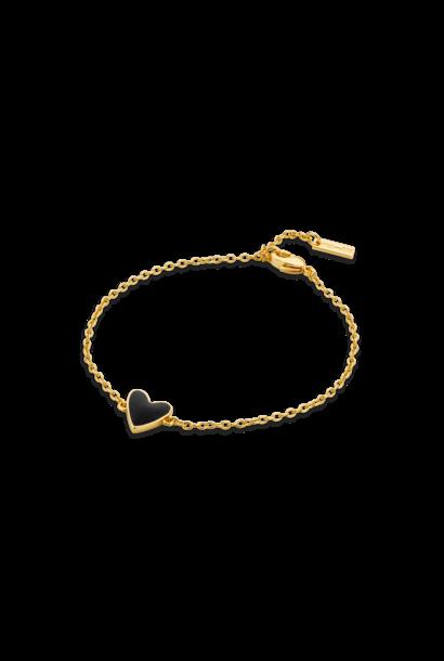 MYA BAY bracelet black heart