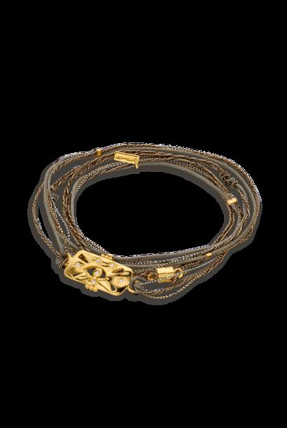 MYA BAY bracelet multi cordon shinny eye