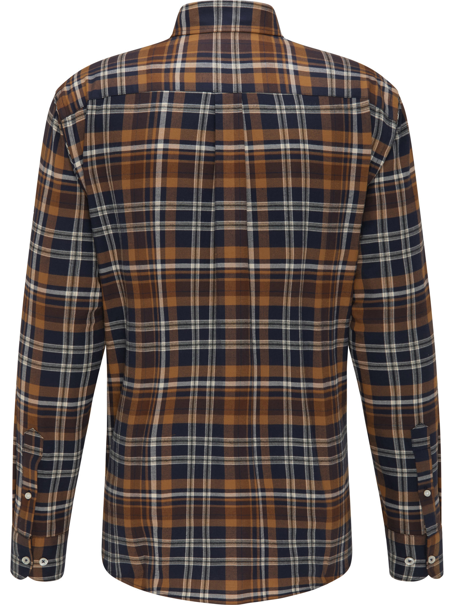 FYNCH HATTON chemise moutard check-2