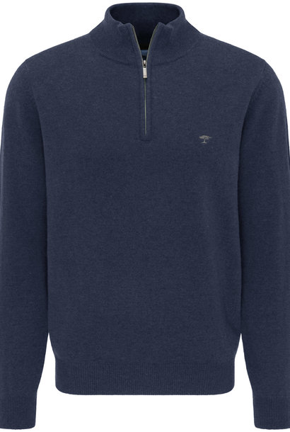 FYNCH HATTON pull zip cashmere
